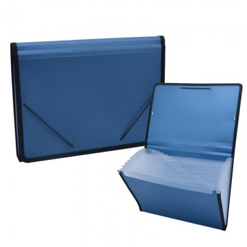 ALFAX 803 Expanding File 13 Dividers A4 Blue