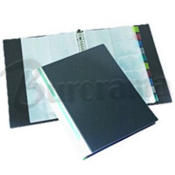 BINDERMAX W3098I Name Card Holder Refillable A4