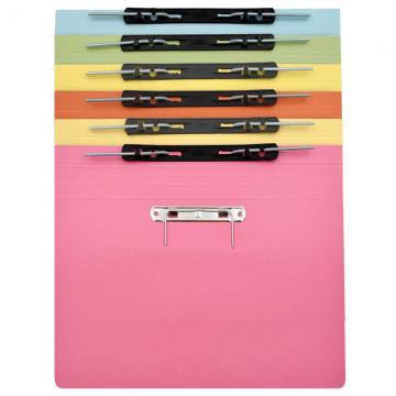 ALFAX 10P Paper Spring File + U Pin F4