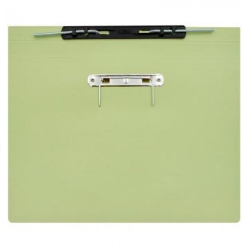 ALFAX 10P Paper Spring File + U Pin F4 Green
