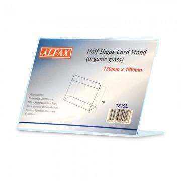 ALFAX 1319L Card Stand L Shape 130x190mm