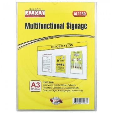 ALFAX AL1130 Multifunctional Signages A3