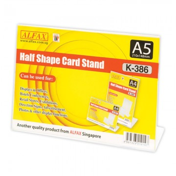 ALFAX K386 Horizontal Card Stand A5