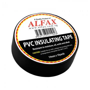 ALFAX 1910 Insulating Tape 19mmx10y Black