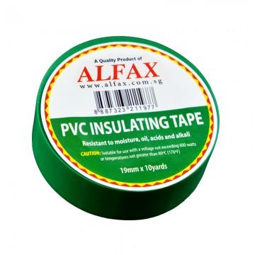 ALFAX 1910 Insulating Tape 19mmx10y Green