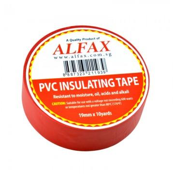 ALFAX 1910 Insulating Tape 19mmx10y Red