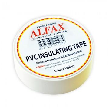ALFAX 1910 Insulating Tape 19mmx10y White