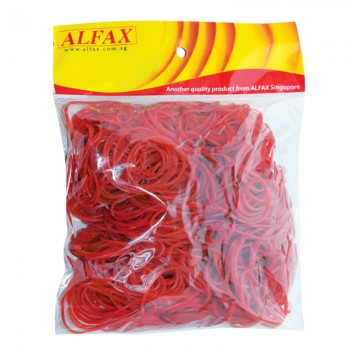 ALFAX Rubber Band 1.5x1.4x70mm 300g Red