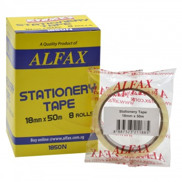 ALFAX 1850N Stationery Tape 18mmx50m