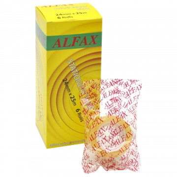 ALFAX 2425 Stationery Tape 24mmx25m