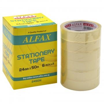 ALFAX 2450N Stationery Tape 24mmx50m