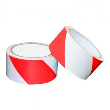 ALFAX 050RW Non-Adhesive Warning Tape 48mmx50m Red/White