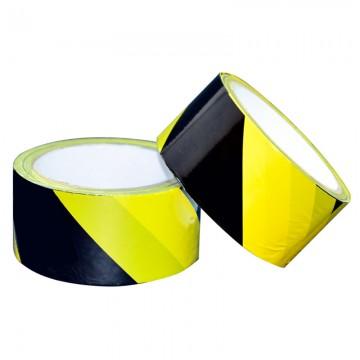 ALFAX 050YB Non-Adhesive Warning Tape 48mmx50m Yellow/Black