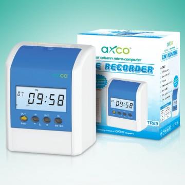 AXCO Micro-Computer 4column Time Recorder TR89