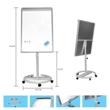 ALFAX FC888 Mobile Flip Chart Board 70x100cm