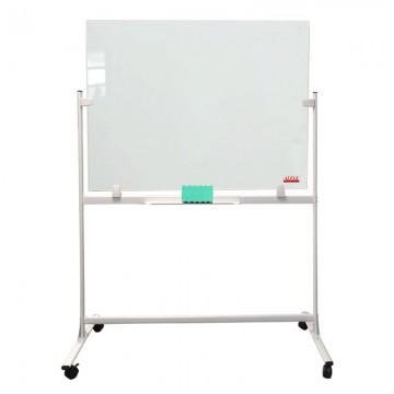 ALFAX GA1015 Tempered Mobile Glass WhiteBoard 100X150cm