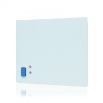 ALFAX GL4040 Tempered Glass Magnetic Whiteboard 40x40cm