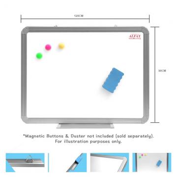ALFAX WY99912 Magnetic WhiteBoard 90x120cm