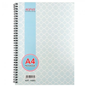 ALFAX A480 Ring Note Book A4 80Pages