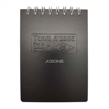 A'ZONE Team Ring Note Book A7 Black