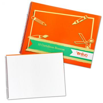ENLIVO SP0382072 Sketch Book 180g 10's