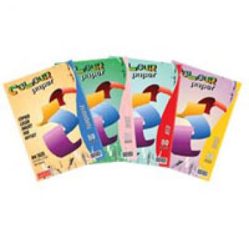 ALFAX Colour Paper 80g A4 100's
