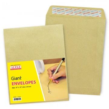 """ALFAX Giant P&S Envelope 10x15"""" 24's"""