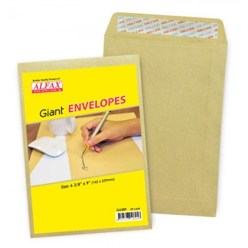 """ALFAX Giant P&S Envelope 6 3/8x9"""" 24's"""