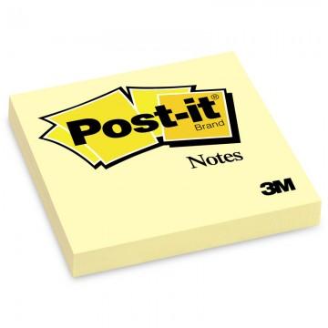 "3M 654YE Post-it Notes 3""x 3"" Yellow"