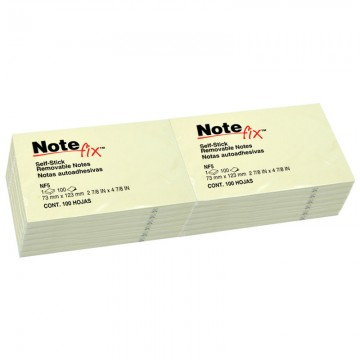 """3M NF5YE Notefix 3""""x5"""" 12's Yellow"""