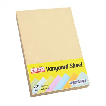 Vanguard Sheet A4 100's Buff