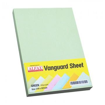 Vanguard Sheet A4 100's Green