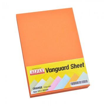 Vanguard Sheet A4 100's Orange