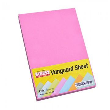 Vanguard Sheet A4 100's Pink