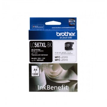 BROTHER Ink Cart LC567XL Black