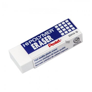 PENTEL ZEH10 Hi-Polymer Eraser -Large