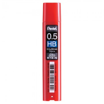 PENTEL C275SHB Pencil Lead 0.5 HB 12'S