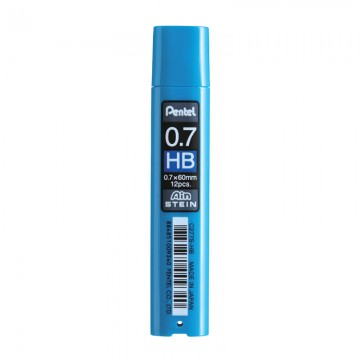 PENTEL C277SHB Pencil Lead 0.7 HB 12'S