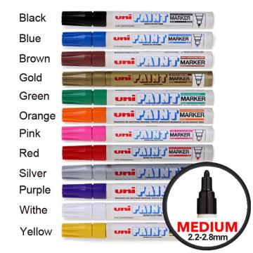 UNI PX20 Paint Marker Medium Bullet Tip