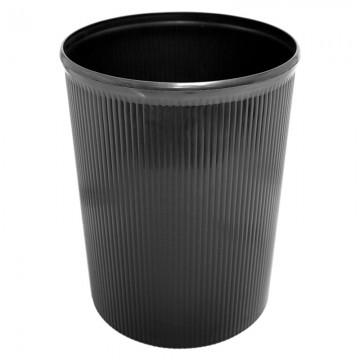 ALFAX Plastic Dustbin 8812 Black 260x329mm