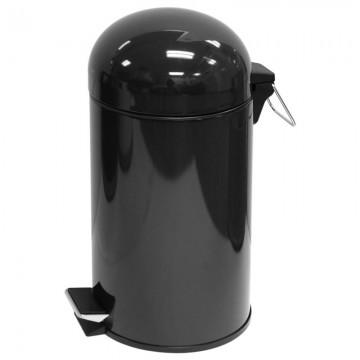 ALFAX Pedal Dustbin HC301C Black 12L D250xH490mm