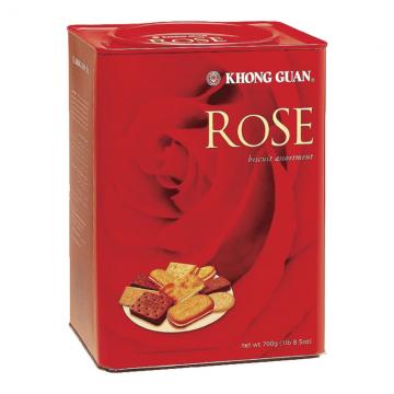 KHONG GUAN Rose Assortment Biscuit 700g