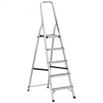 ALFAX 5 Step Aluminum Folding Ladder AL0105A