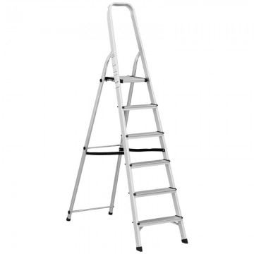 ALFAX 6 Step Aluminum Folding Ladder AL0106A