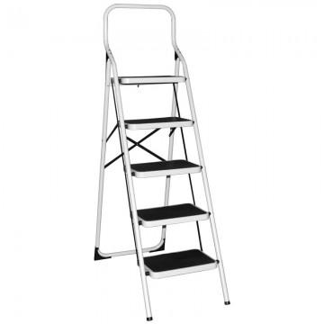 ALFAX 5 Step Metal Ladder Square Handle AL0305A