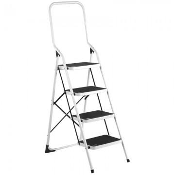 ALFAX 4 Step Metal Ladder High Handle AL0404A