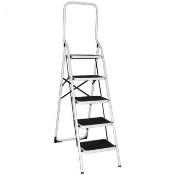 ALFAX 5 Step Metal Ladder High Handle AL0405A