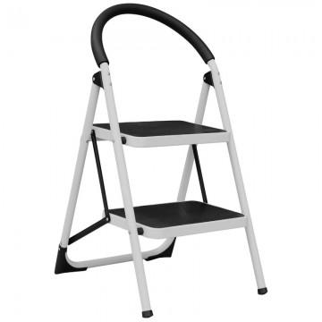 ALFAX 2 Step Round Handle Grip Ladder AL0502A